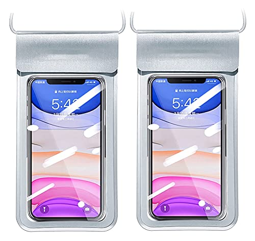 HSFS bolsa seca impermeable Funda de la bolsa de teléfono a prueba de agua Bolsa de teléfono seco de la bolsa seca Pantalla táctil Pantalla táctil Bolsa de sellado a prueba de polvo Adecuado para foto
