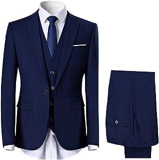 Allthemen Men's 2-Piece Slim Fit Suit for Wedding and Party