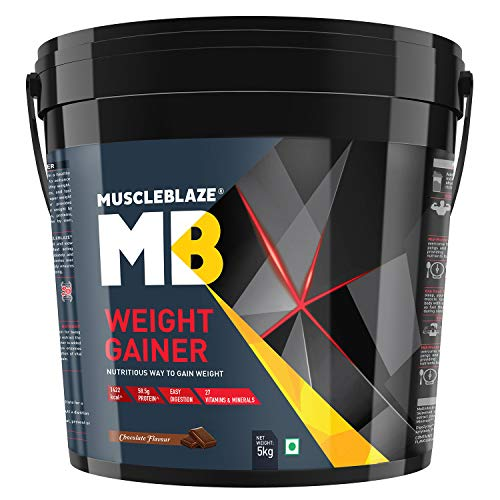 MuscleBlaze Weight Gainer (Chocolate, 5 Kg / 11 lb)