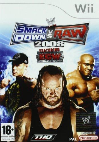 Smackdown vs Raw 2008 [Importer espagnol]