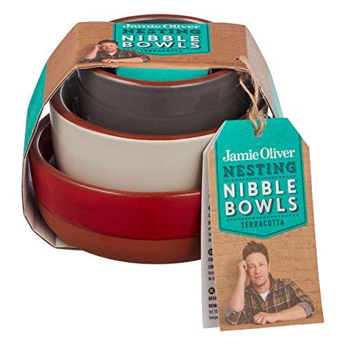 Jamie Oliver - Schälchen-Set - Schüssel-Set - Terrakotta - bunt - 3-teilig