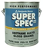 Benjamin Moore 1 Gallon Can of High Performance Super Spec Paint Blue | for use with Kayak Pools