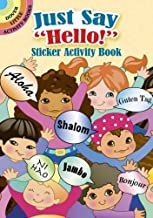 """Just Say """"Hello!"""" Sticker Activity Book (Dover Little Activity Books Stickers)"""
