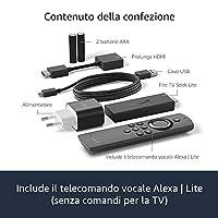 Fire TV Stick Lite con telecomando vocale Alexa | Lite (senza comandi per la TV), Streaming in HD, modello 2020 #5