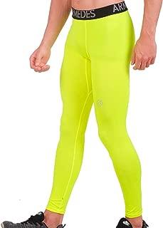 ARMEDES Men's Compression Pants Baselayer Cool Dry Sports Tights Leggings/Capri Pants/Shorts AR-161/171/181
