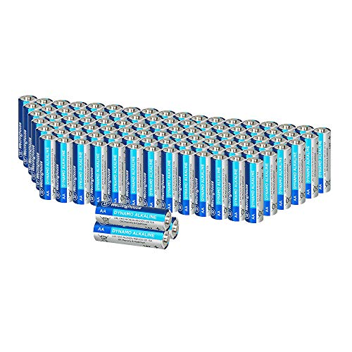 Westinghouse Alkaline AA Batteries (Bulk Pack 96 Count), Leak-Proof & Long-Lasting Technology Double A Primary Batteries with Lasting Power for High Drain Devices