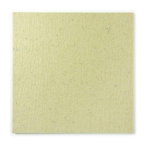 The Felt Store - Feltro (Industriale/di Lana) a Taglio, Media densità, 50 x 50 cm, 5 mm Spessore, Colore: Bianco