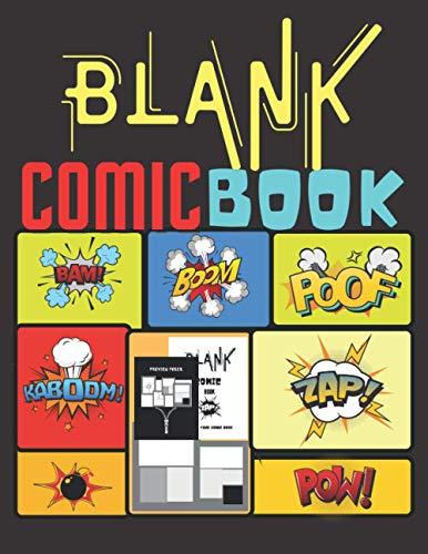 Libro de Cómics En Blanco: Libro de actividades para...