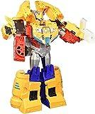 Transforme Toy Spark Armor Ark Power Optimus Prime Figura - Combinado con el vehículo de alimentación Arca A Lit - para niños Mayores 6 y amperios