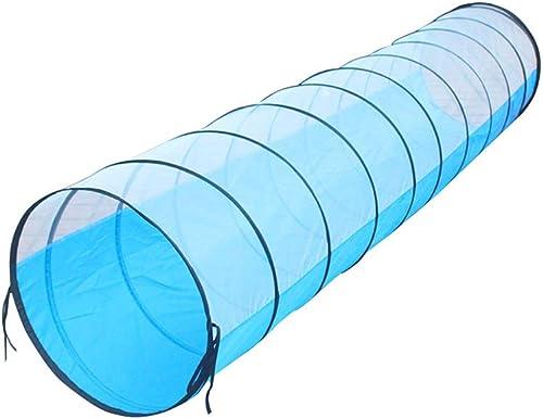 Hide N Side Enfants Jouet pour Tunnel de Jeu avec Tunnel de Jeu,bleu