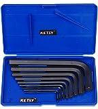 Allen Key Set of 9 Pcs. Material CHROME VANDIUM Size 1.5, 2, 2.5, 3, 4, 5, 6, 8, 10 mm