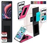 Hülle für HTC One X10 Tasche Cover Hülle Bumper | Pink | Testsieger