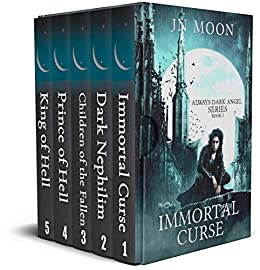 Always Dark Angel Complete Box Set (Books 1-5): British Vampire Urban Fantasy by [JN Moon]