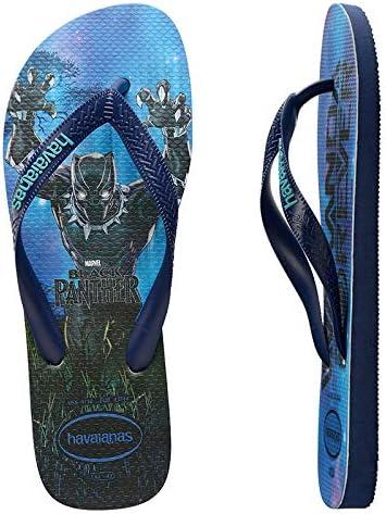 Havaianas Top Marvel Unisex Flip Flops - Navy/Blue
