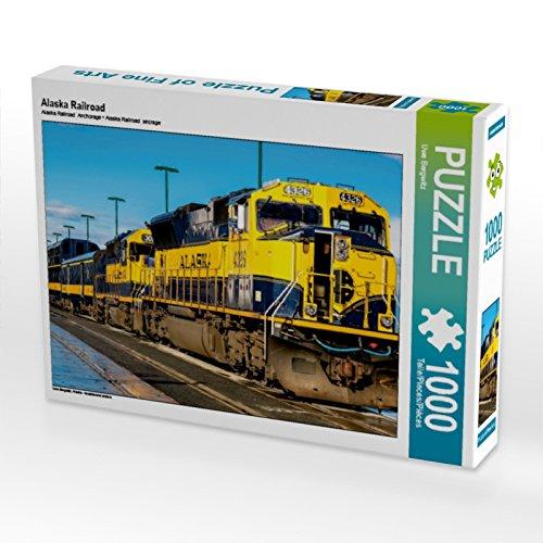 CALVENDO Puzzle Alaska Railroad 1000 Teile Lege-Größe 64 x 48 cm Foto-Puzzle Bild von Uwe Bergwitz