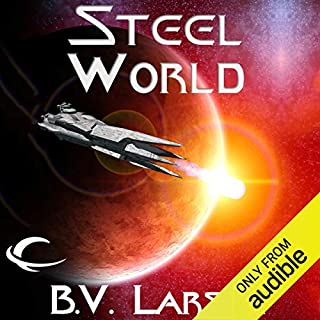 Steel World audiobook cover art