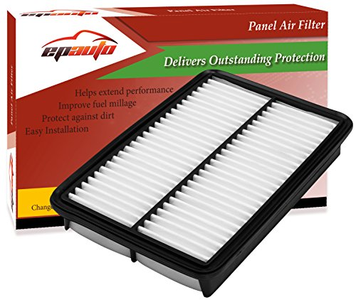 EPAuto GPA0A (PE07-13-3A0A) Replacement for Mazda Rigid Panel Engine Air Filter for SkyActiv Mazda 3 (2013-2019), Mazda 6 (2014-2019), CX-5 2.5L (2013-2019)