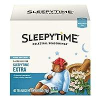 Celestial Seasonings Wellness Tea, Sleepytime Extra, 40 Count Box
