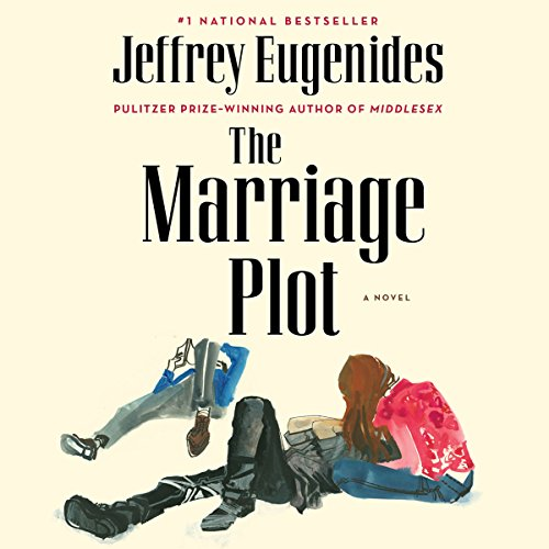 The Marriage Plot audiobook cover art