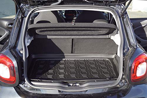 Thomatex Kofferraumw-Smart 453-L-E5 TPE Kofferraumwanne, passend für Forfour 453