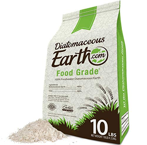 Diatomaceous Earth Powder 100% Organic Food Grade – Safe For Children & Pets 10 LBS