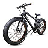 "NAKTO 26"" Fat Tire Electric Bicycle 300W High Speed Brushless Motor..."
