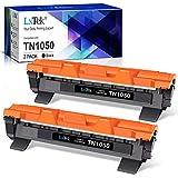 LxTek Kompatibel Ersatz für Brother TN1050 TN 1050 TN-1050 Toner für Brother DCP-1510 DCP-1610W DCP-1612W HL-1110 HL-1112 DCP-1512 HL-1210W HL-1212W MFC-1910W MFC-1810 (2 Schwarz)