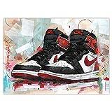 JosHoppenbrouwers Nike Air Jordan 1 Retro High 'Track Red'