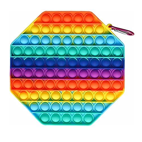 SetdiGiocattoliSensoriali Pop Bubble Fidget Toys Set autismo Stress Anxiety Relief Stress Balls Toys Set di pop toy Economici Moltissimo Scegliere(A-95)