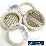 unico olimpia splendid istruzioni  Coppia di griglie Ø 160 mm pieghevoli con flange per Unico Olimpia Splendid