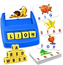 Educational Toys for 3-8 Year Olds Boys Girls, TOPTOY Spelling Games for Kids Ages 3-8 Learning Toys Memory Word Game Gifts for 3-8 Year Olds Boys Girls Toys Age 2-5 Year Old Boy Girl Best Gift ZMPD1