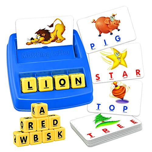 Educational Toys for 3-8 Year Olds Boys Girls, TOPTOY Spelling Games for Kids Ages 3-8 Learning Toys Memory Game Gifts for 3-8 Year Olds Boys Girls Toys Age 2-5 Year Old Boy Girl Best Gifts ZMPD1