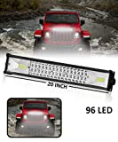 Carzex Car Spot + Flood Beam Bar Light Fog Auxiliary Light Off-Roading