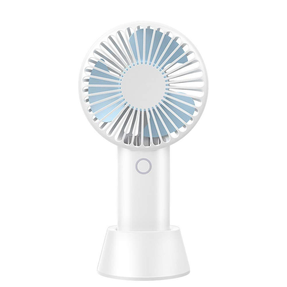 Color : E BNSDMM Mini Fan USB Charging Student Dormitory Bed Portable Light and Quiet Portable Portable Fan