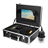 <span class='highlight'><span class='highlight'>Pongnas</span></span> Underwater Fishing Camera 9 Inch, IP68 Waterproof Fish Finder 360° Rotation Underwater Fishing Cam with Carry Case, DVR Recording Function (Include 8GB Memory Card)(UK)