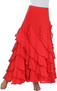 09adfae91 Amazon.es: falda baile flamenco