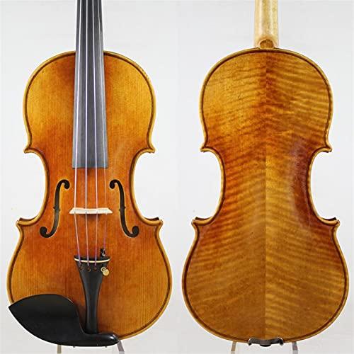 Fiddle Violín Hecho A Mano Viño De Aceite Antiguo Natural Spruce Spruce Pure Spruce Profesional Violín 4/4 Violines Set