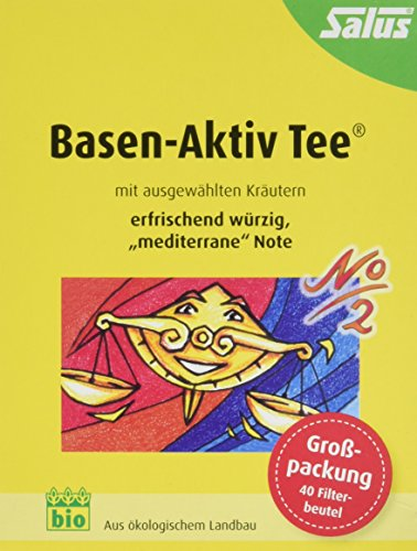 Salus Basen-Aktiv Tee Nr. 2 Mediterran, im FB, 2er Pack (2 x 72 g) - Bio