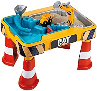 Theo Klein 3237 Cat Sand and Water Play Table I With Digger Arm, Dumper Truck, 2 Pipes, Stoppers and Removable Basins I Dimensions: 64 cm x 48 cm x 40 cm I Toy for Children Aged 18 Months and up (B07PQ8SCTV) | Amazon price tracker / tracking, Amazon price history charts, Amazon price watches, Amazon price drop alerts