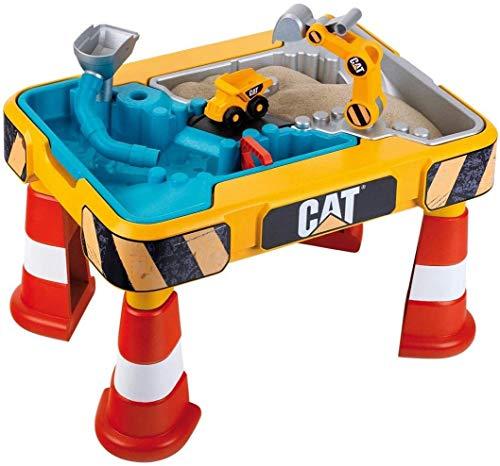 Theo Klein 3237 CAT Sand- und Wasserspieltisch I Mit Baggerarm,...