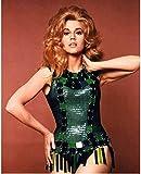 Unikei Bild Auf Leinwand Jane Fonda Barbarella Poster Bild