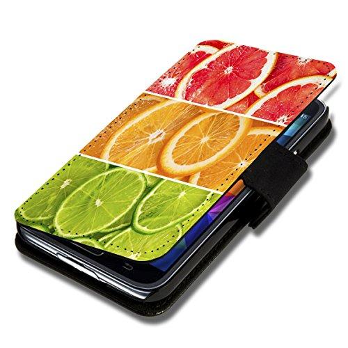 wicostar Book Style Flip Handy Tasche Hülle Schutz Hülle Schale Motiv Etui für Wiko Darkmoon - Flip 1A50 Design3