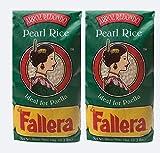 La Fallera 2 paquetes de 2.2 libras de paella valenciana de Arroz Redondo de La Albufera Valencia para Paella (2 unidades)