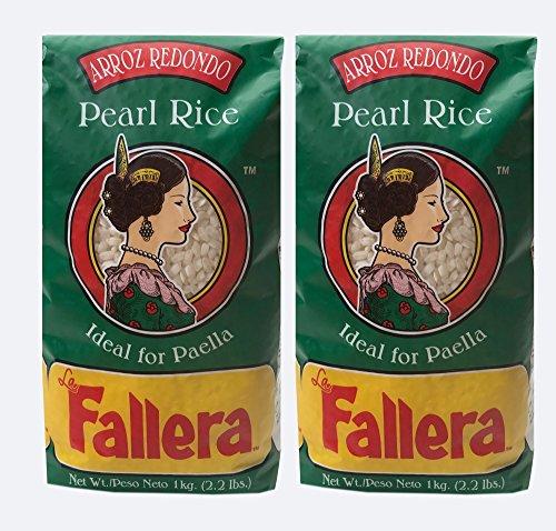 La Fallera - Paella valenciana (2 unidades, Arroz Redondo de La Albufera, Valencia para Paella, 2 unidades) 2 Pk