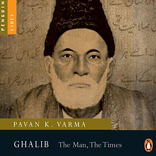 Ghalib: The Man, The Times cover art