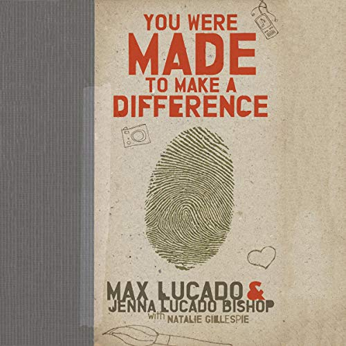 You Were Made to Make a Difference audiobook cover art