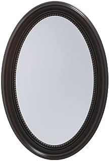 Pegasus SP4603 30-Inch Deco High Oval Framed Medicine Cabinet, Oil Rubbed Bronze