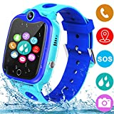 Smart Watch for Kids with GPS Tracker, Kids Waterproof Smartwatch Phone with Games Touch Screen SOS...