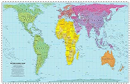 Peters World Map 1995 by Unknown(1995-01-05)