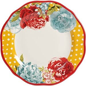 The Pioneer Woman Blossom Jubilee 12-Piece Dinnerware Set